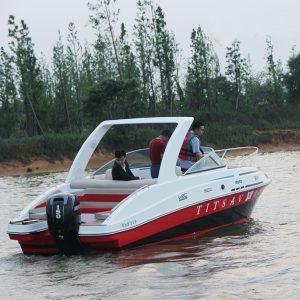 10 Person FRP Cabin Boat
